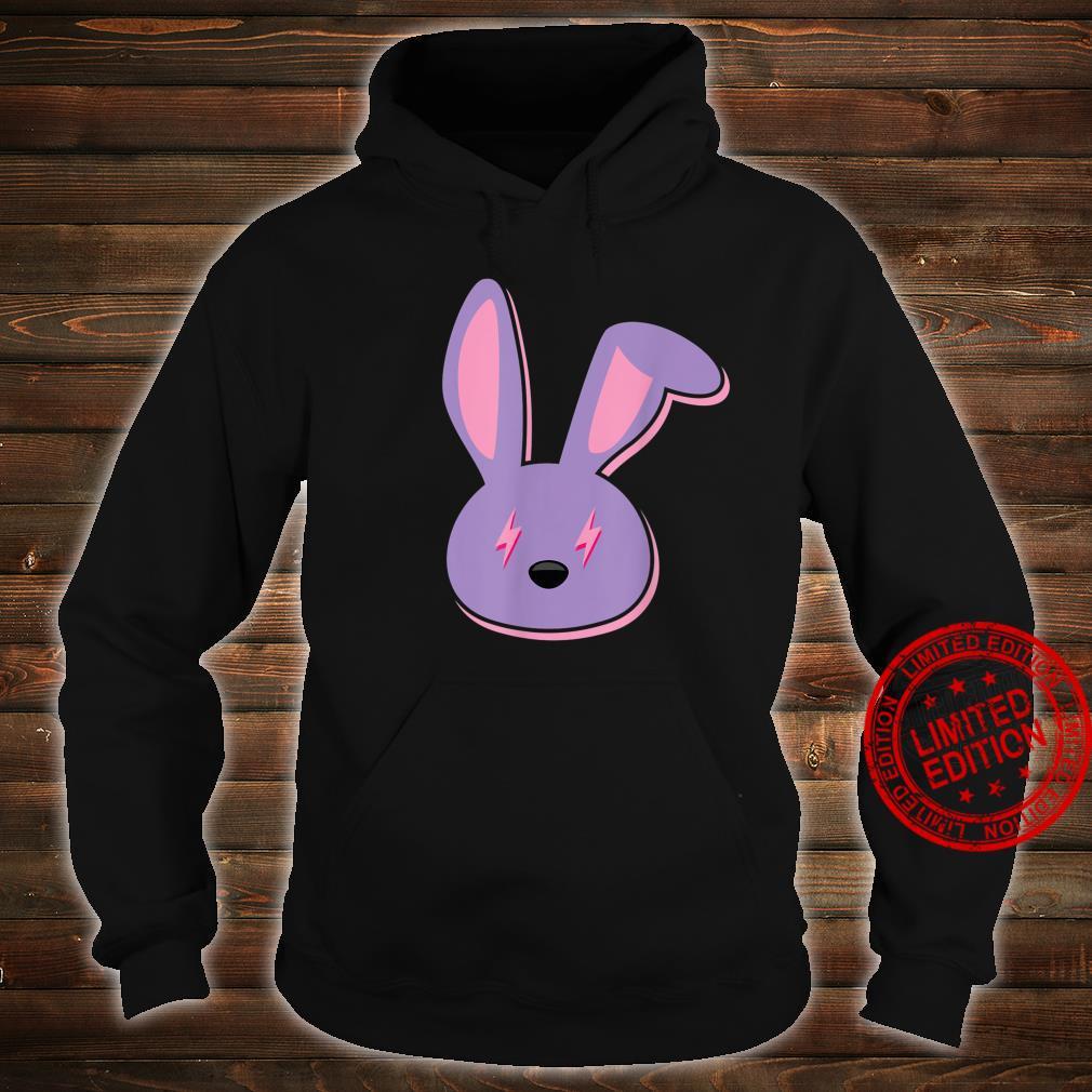 Bad Dembow Rabbit Bunny Easter Lightning Bolts Shirt hoodie