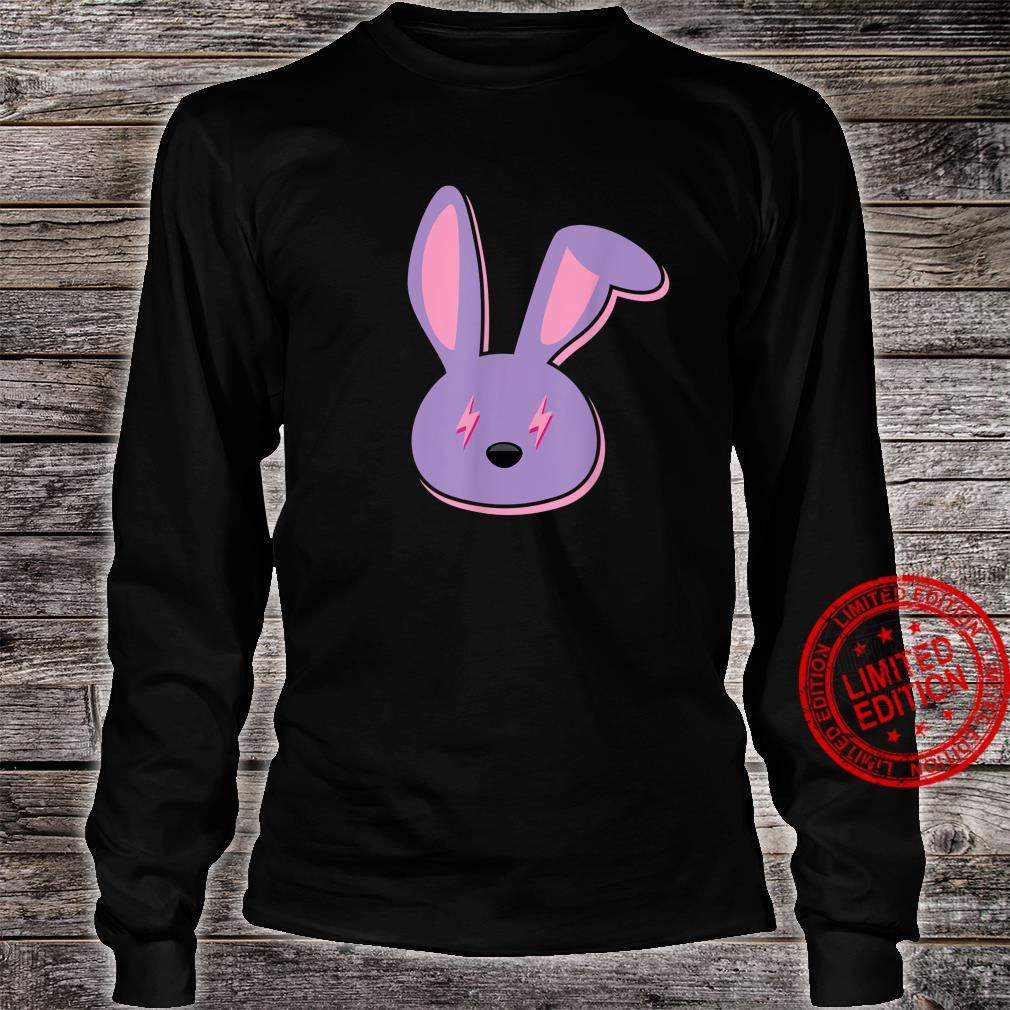 Bad Dembow Rabbit Bunny Easter Lightning Bolts Shirt long sleeved