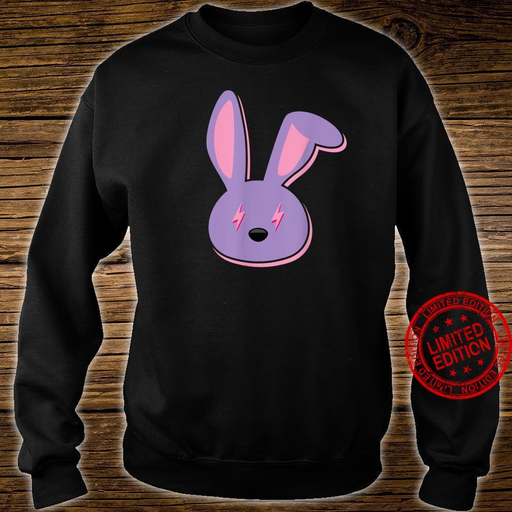 Bad Dembow Rabbit Bunny Easter Lightning Bolts Shirt sweater