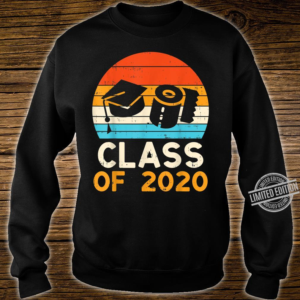 Graduation Hat Toilet Paper Class 2020 Retro Quarantine Shirt sweater
