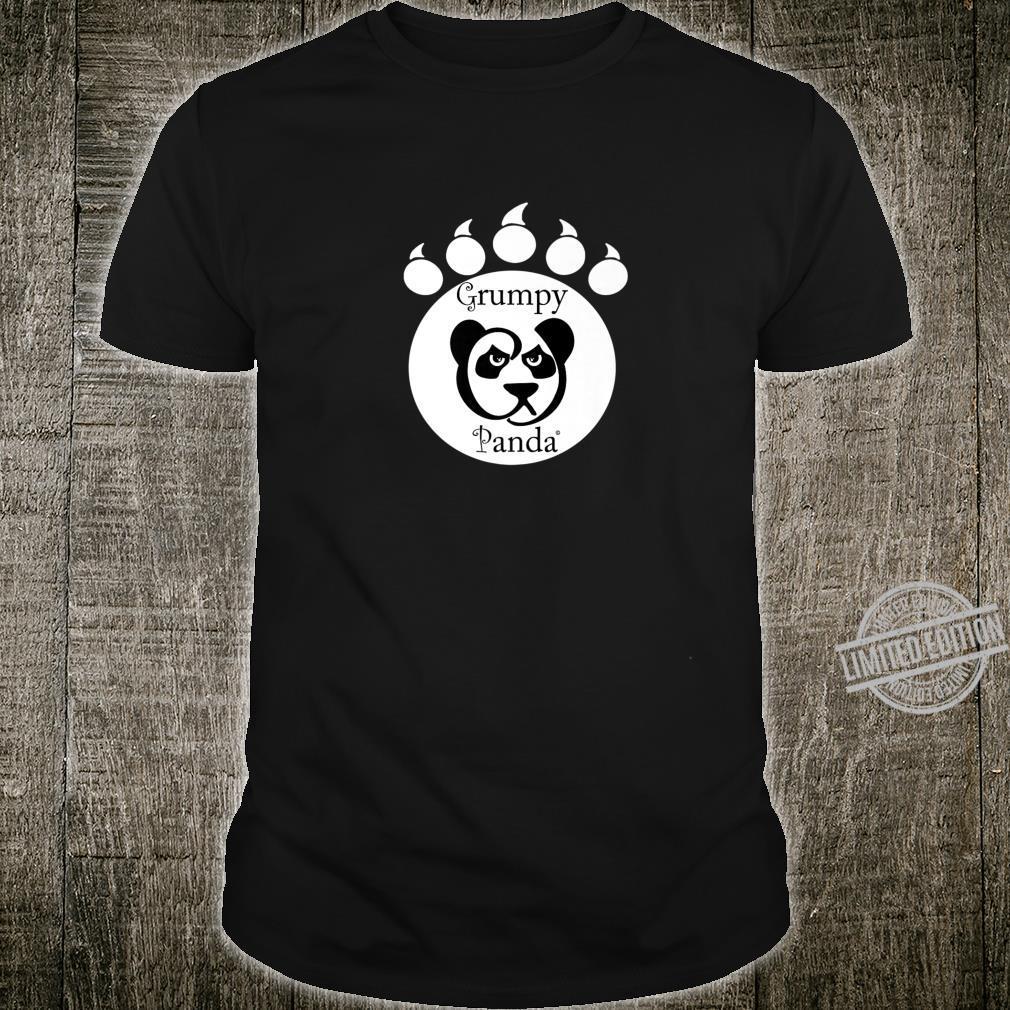 Grumpy Panda Paw Print Shirt