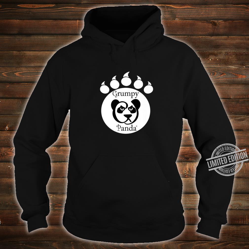 Grumpy Panda Paw Print Shirt hoodie