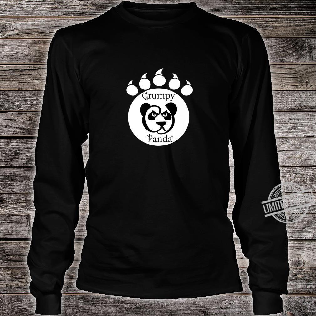 Grumpy Panda Paw Print Shirt long sleeved