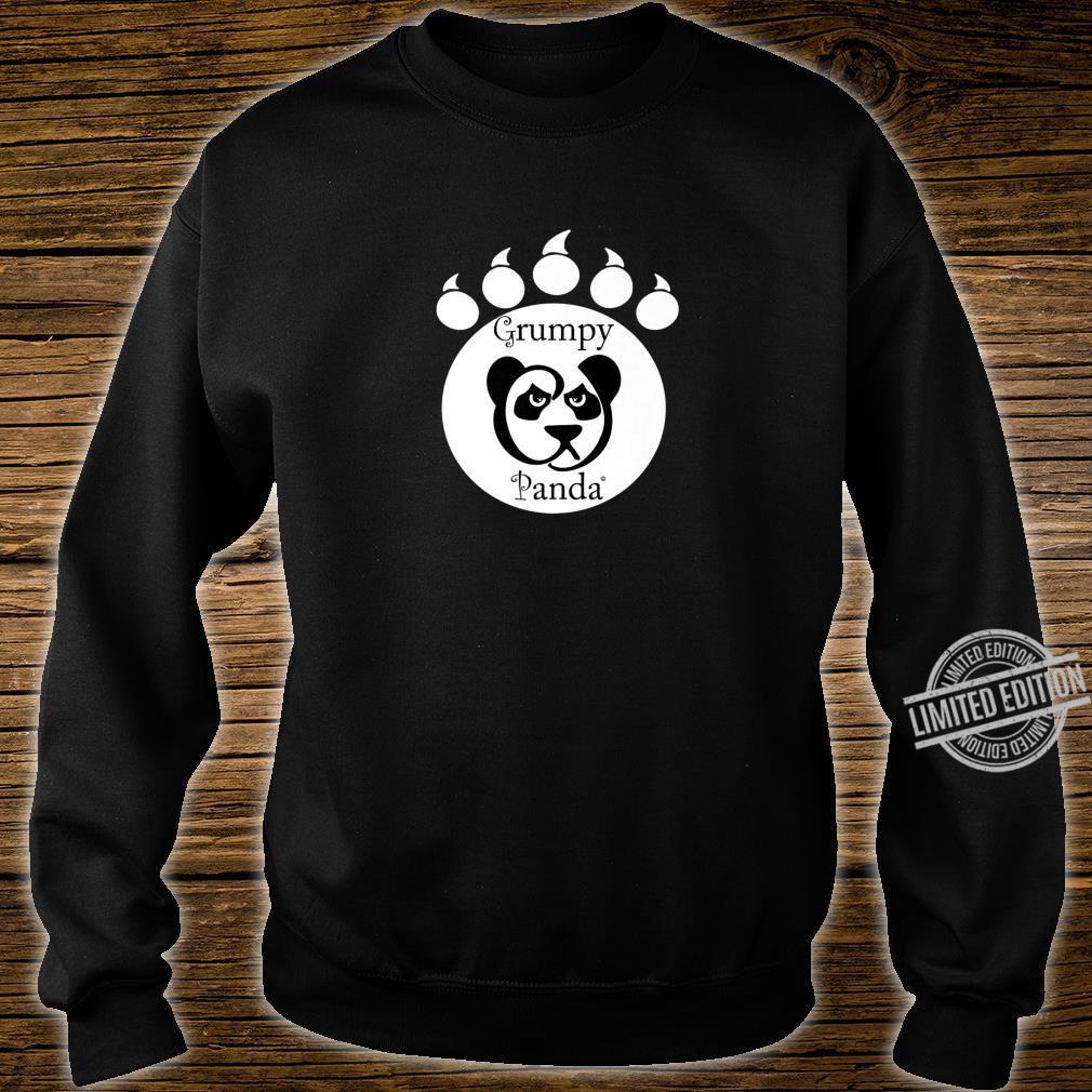 Grumpy Panda Paw Print Shirt sweater