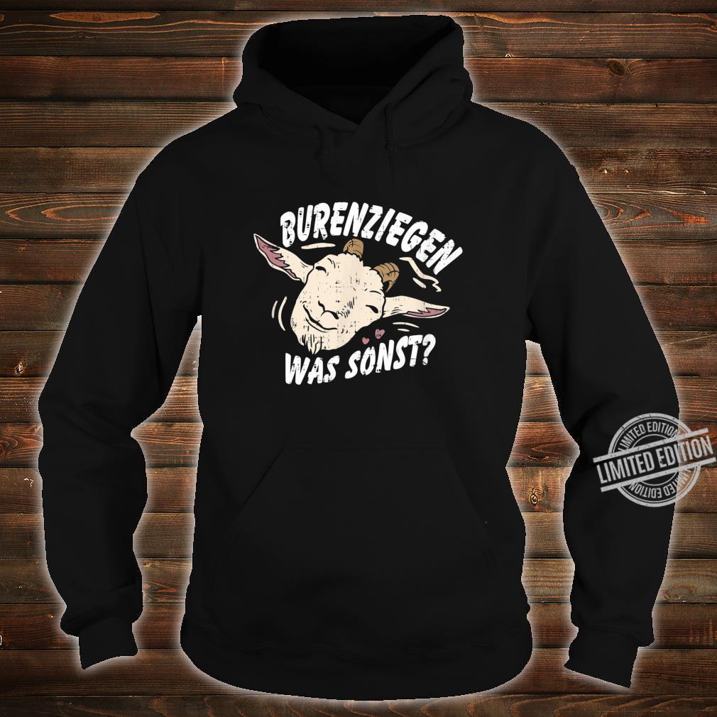 Retro Vintage Ziegendesigns für Ziegenfans, Ziegenfreunde Shirt hoodie