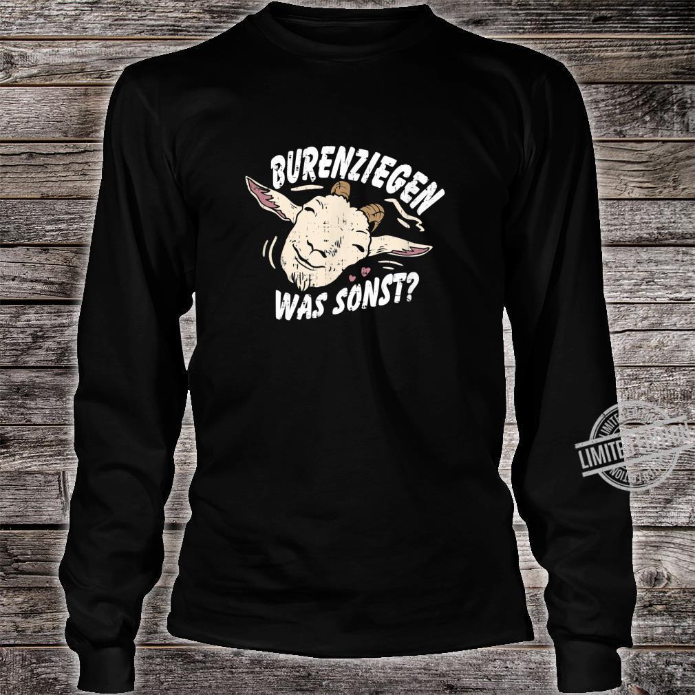 Retro Vintage Ziegendesigns für Ziegenfans, Ziegenfreunde Shirt long sleeved