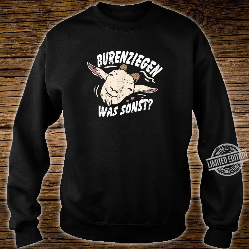Retro Vintage Ziegendesigns für Ziegenfans, Ziegenfreunde Shirt sweater