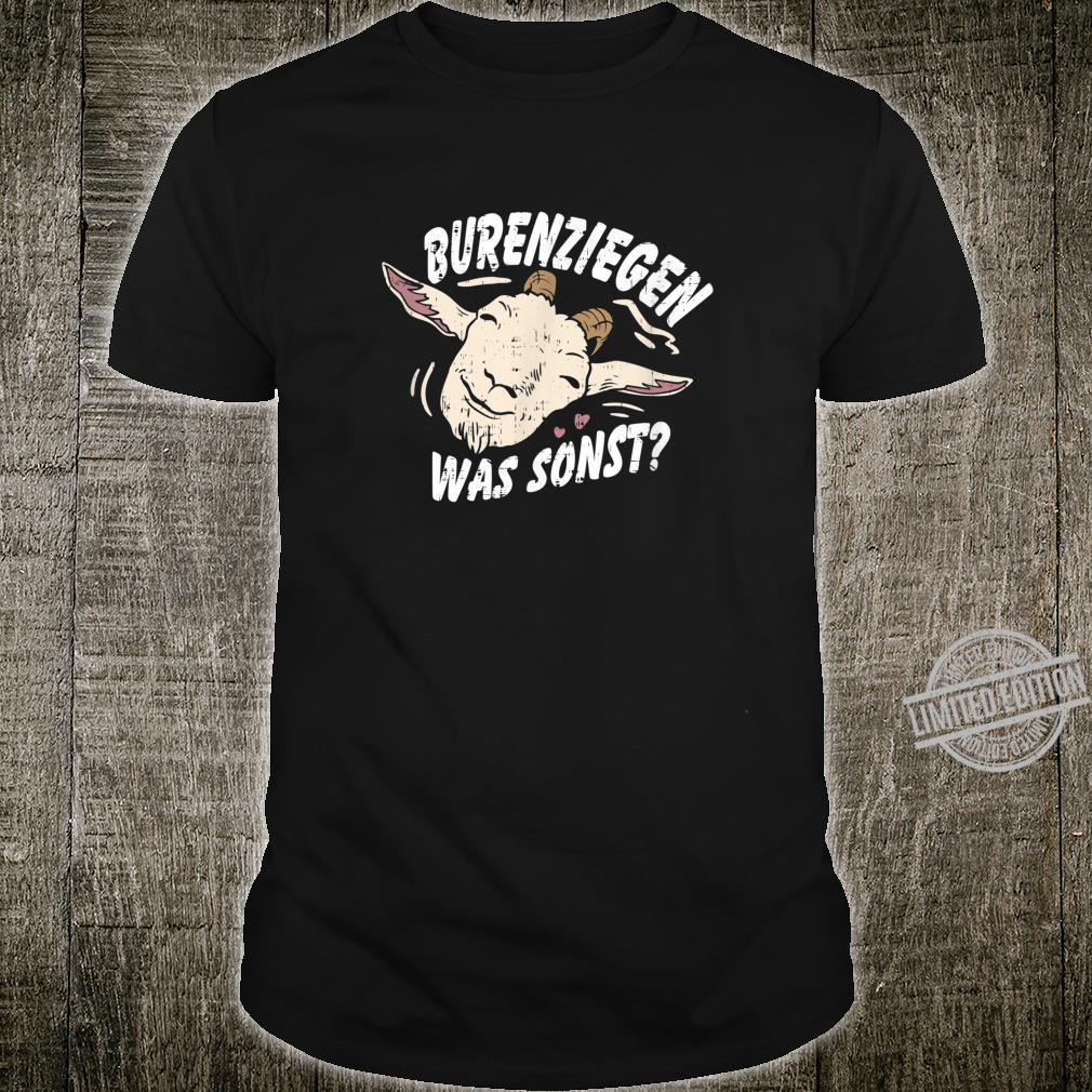 Retro Vintage Ziegendesigns für Ziegenfans, Ziegenfreunde Shirt