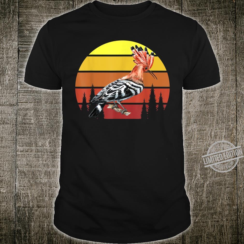 Retro Wiedehopf Awesome Cool Vintage Shirt