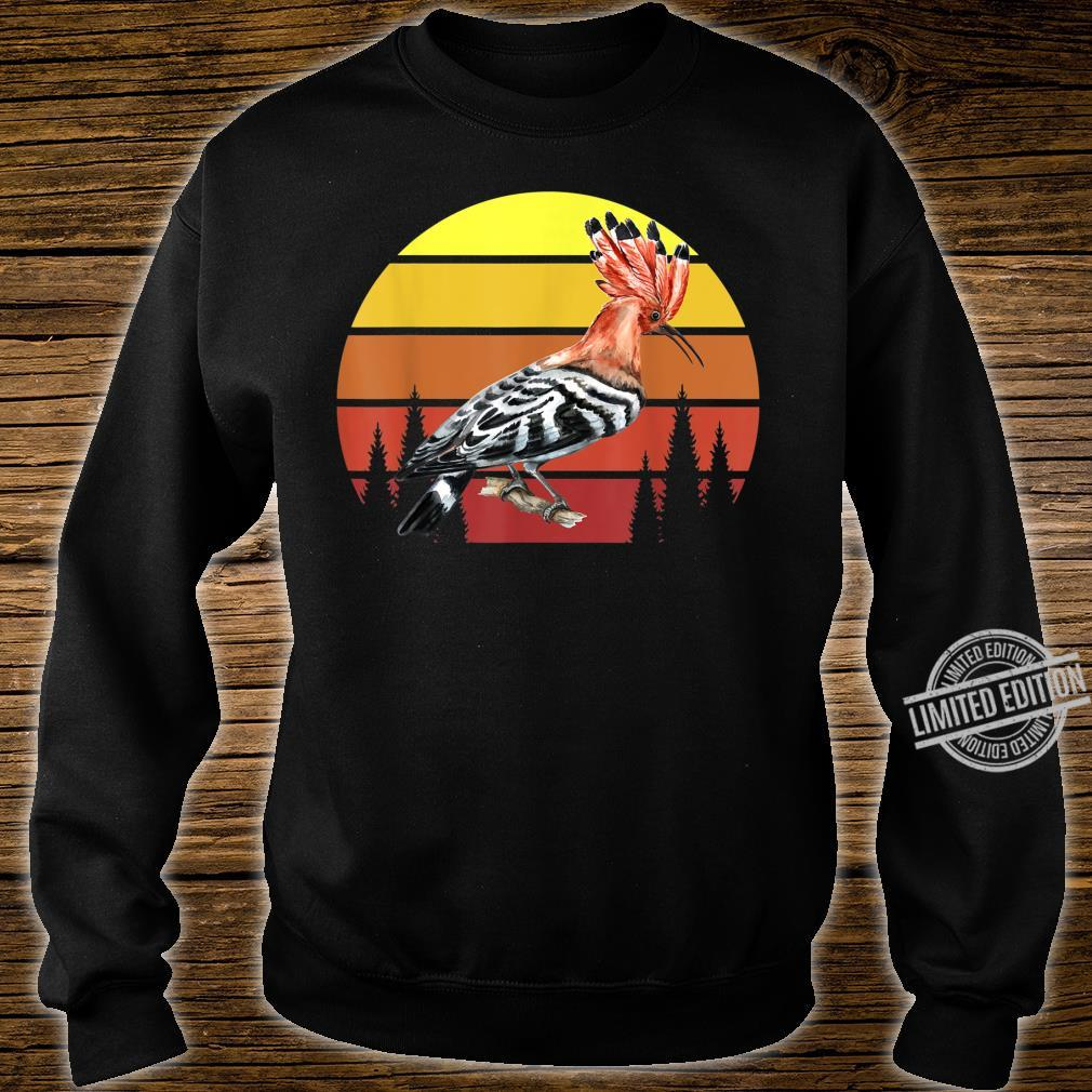 Retro Wiedehopf Awesome Cool Vintage Shirt sweater