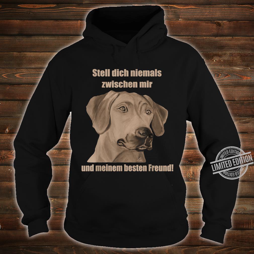 Rhodesian Ridgeback. Hundefan Geschenk Geburtstag Shirt hoodie