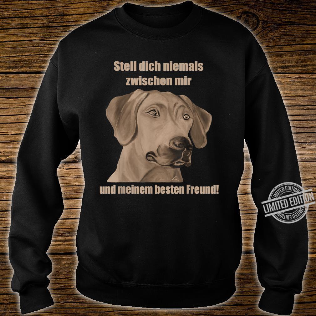 Rhodesian Ridgeback. Hundefan Geschenk Geburtstag Shirt sweater