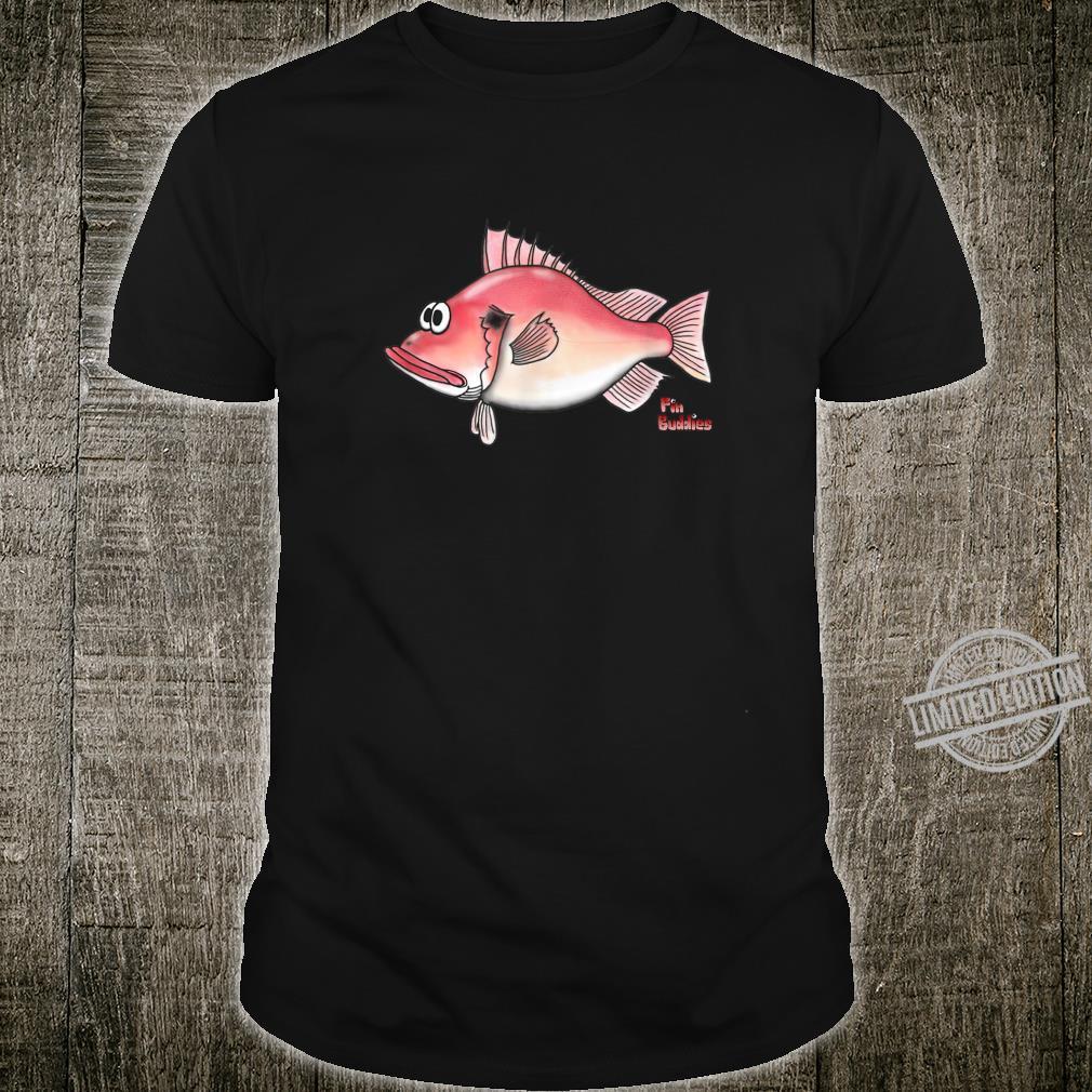 Rotbarsch kleiner roter Fisch Shirt
