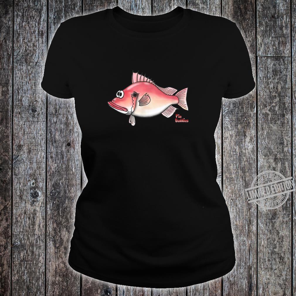 Rotbarsch kleiner roter Fisch Shirt ladies tee