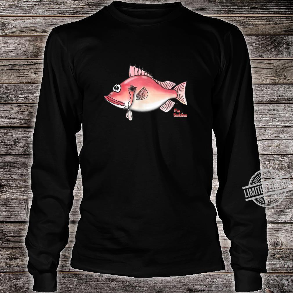 Rotbarsch kleiner roter Fisch Shirt long sleeved