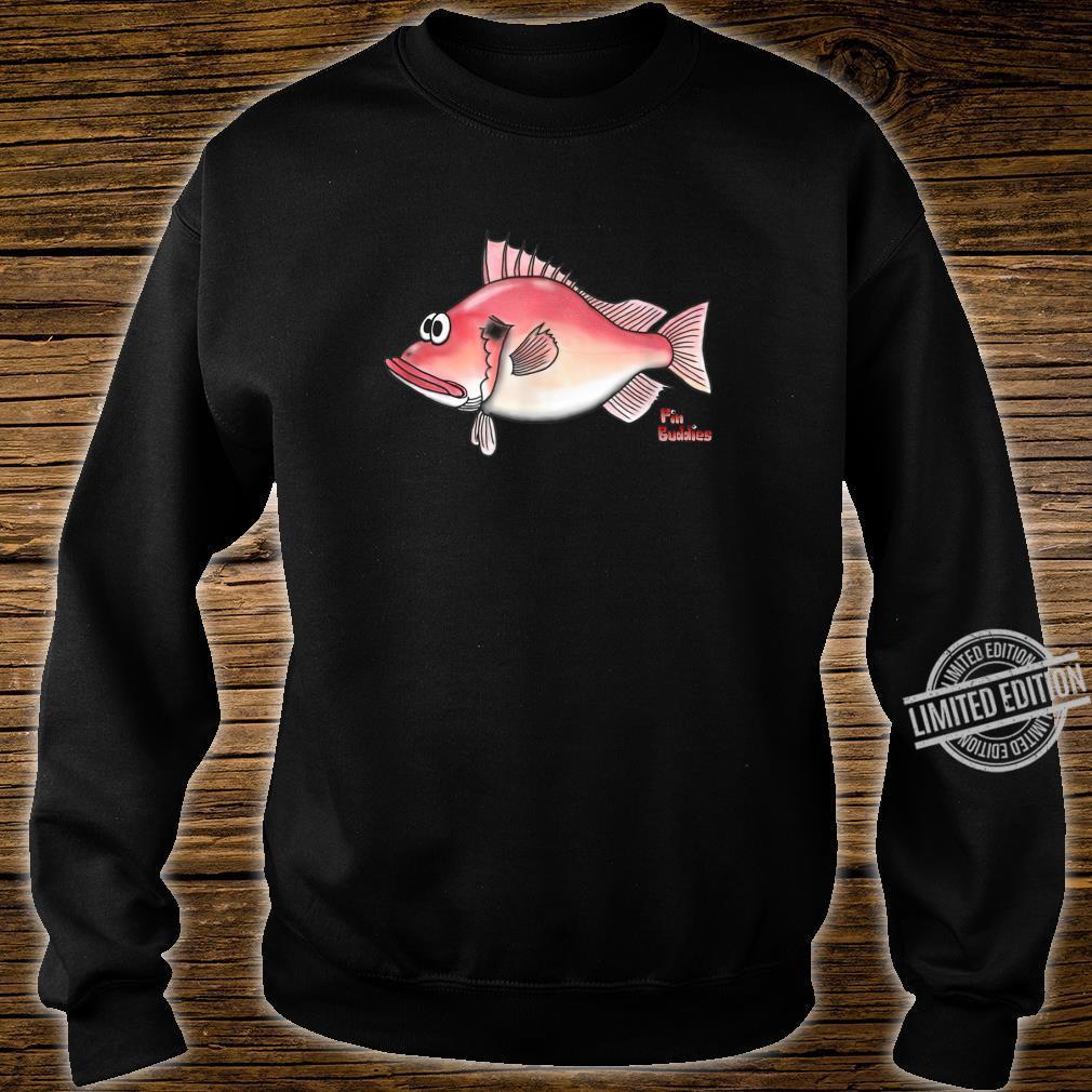 Rotbarsch kleiner roter Fisch Shirt sweater