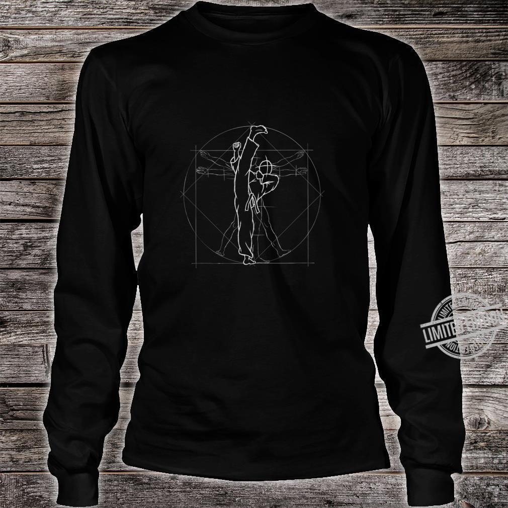Roundhouse Kick Kickboxing Kung Fu MMA TaeKwonDo Shirt long sleeved