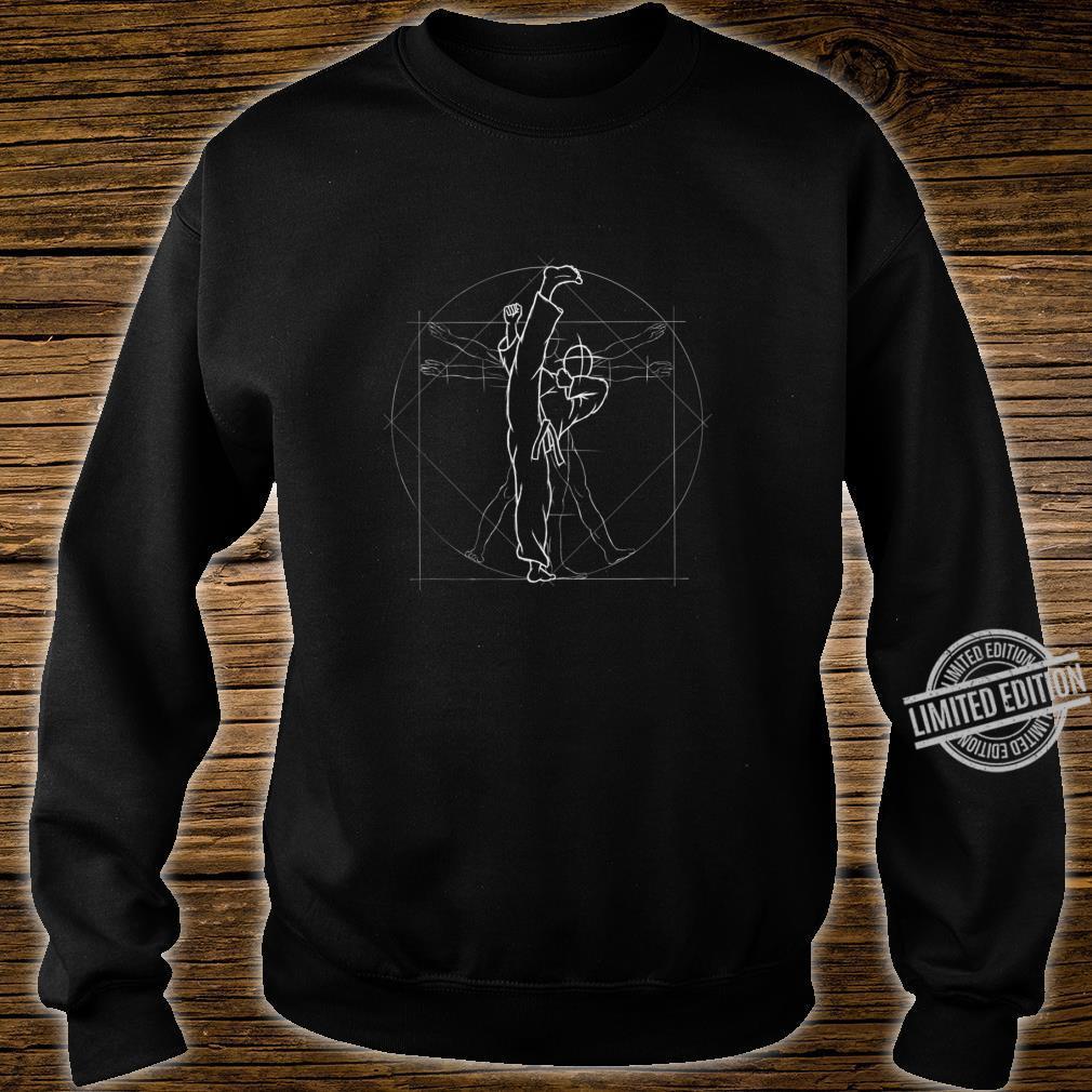 Roundhouse Kick Kickboxing Kung Fu MMA TaeKwonDo Shirt sweater