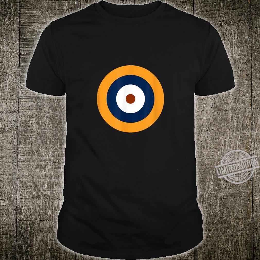 Royal Air Force Roundel RAF WW2 WWII War Logo Shirt