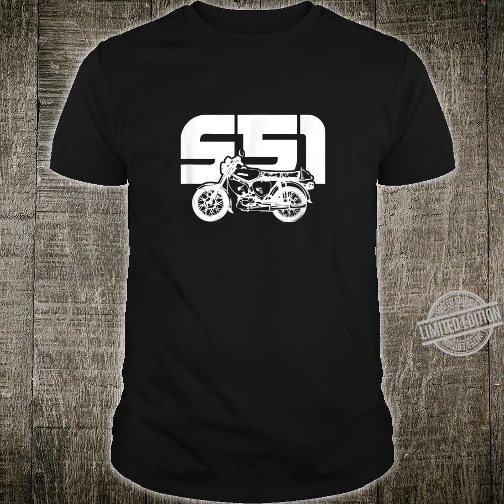 S51 S50 Moped Oldtimer I SimsonS51 Shirt