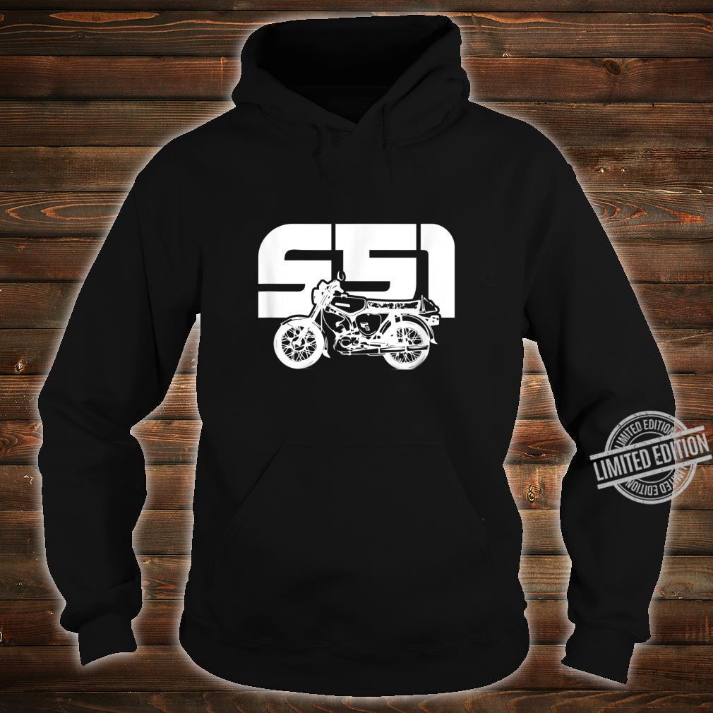 S51 S50 Moped Oldtimer I SimsonS51 Shirt hoodie