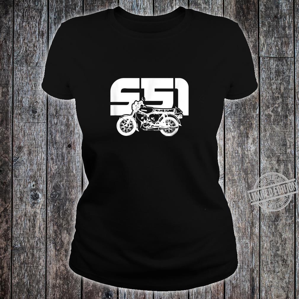 S51 S50 Moped Oldtimer I SimsonS51 Shirt ladies tee