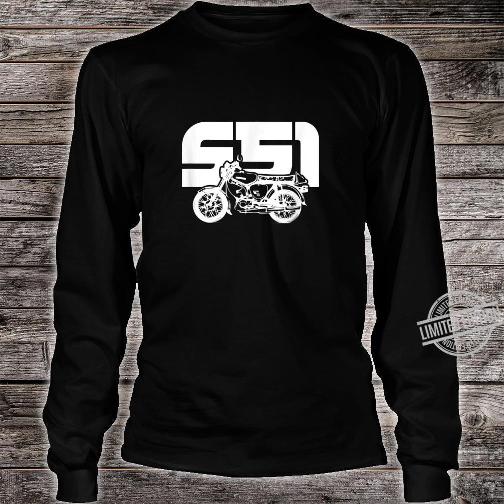 S51 S50 Moped Oldtimer I SimsonS51 Shirt long sleeved