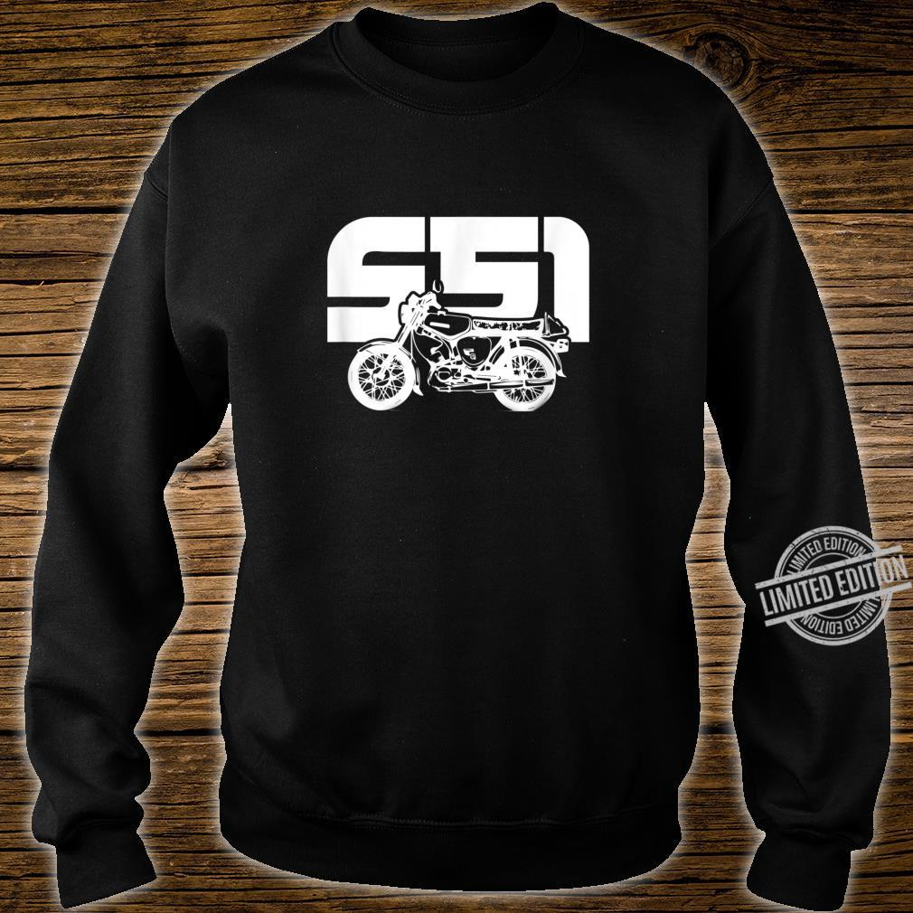S51 S50 Moped Oldtimer I SimsonS51 Shirt sweater