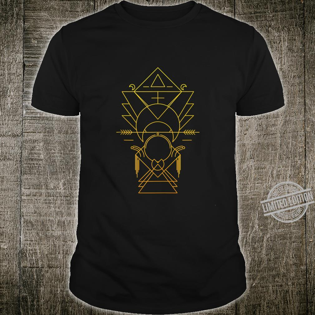 Sacred Geometry Ancient Alchemy Meditation Yoga Esoteric Shirt