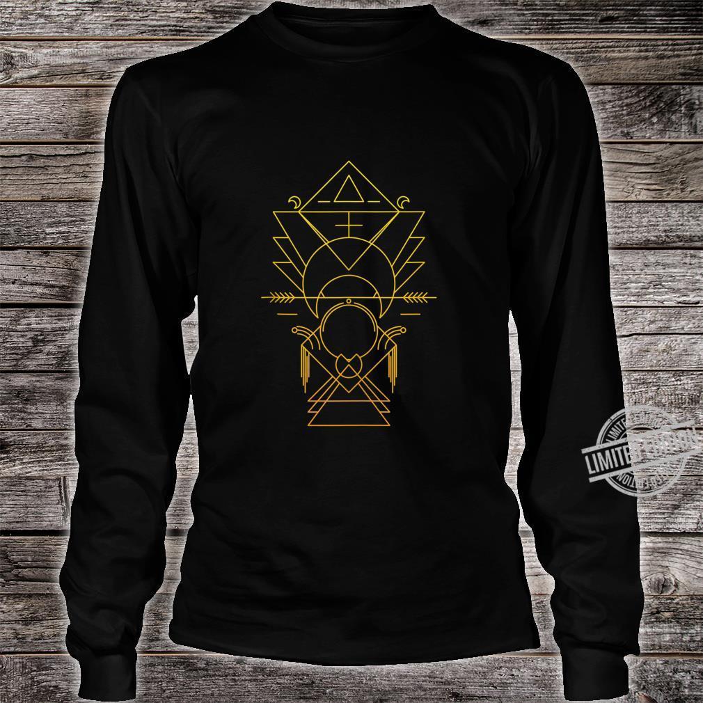 Sacred Geometry Ancient Alchemy Meditation Yoga Esoteric Shirt long sleeved