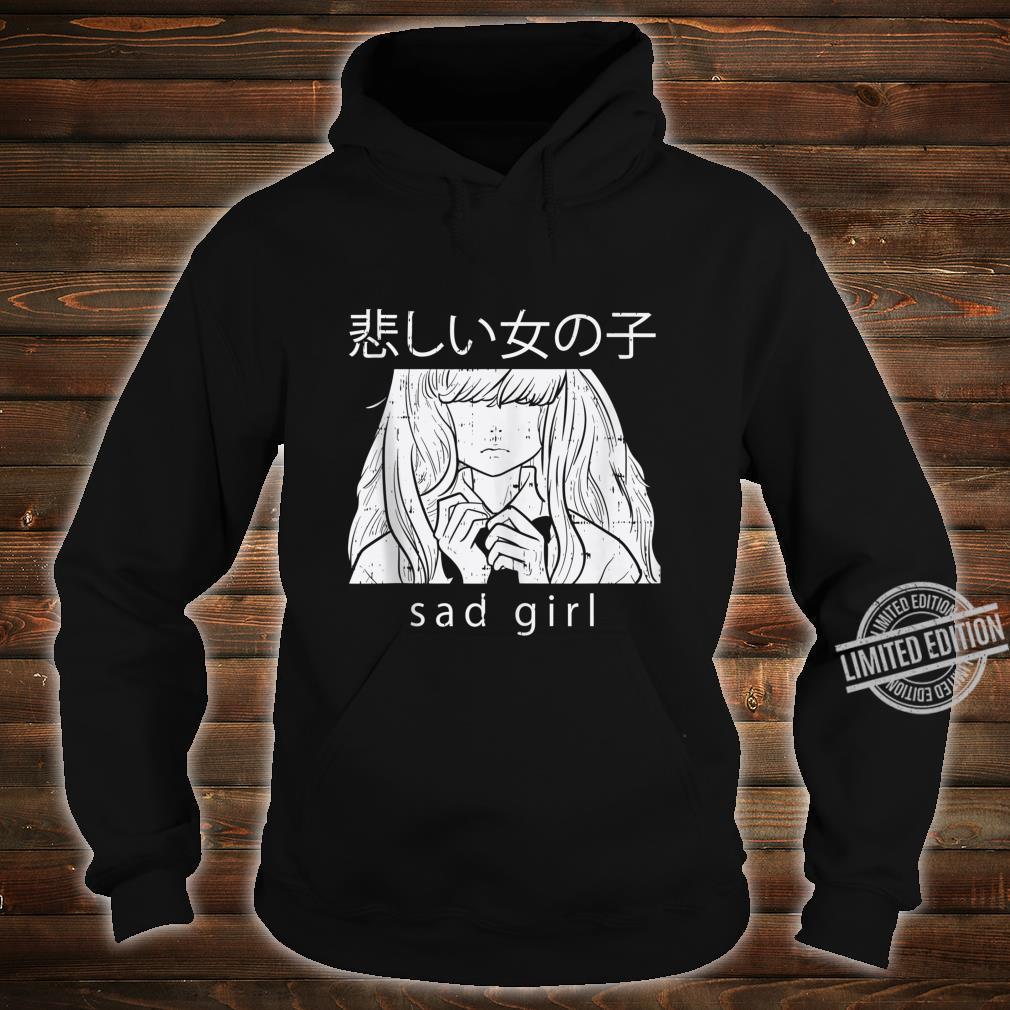 Sad Girl Anime Goth Aesthetic Manga Japanese Otaku Shirt hoodie