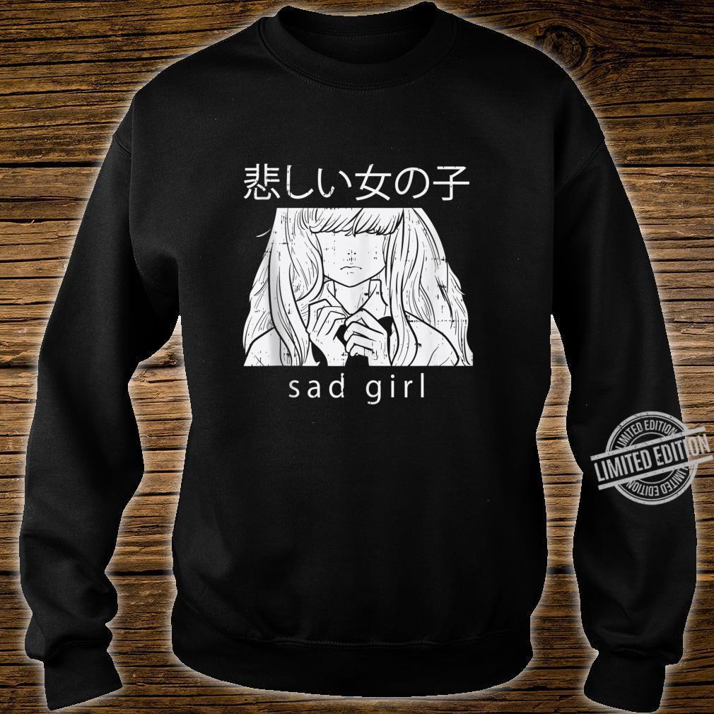 Sad Girl Anime Goth Aesthetic Manga Japanese Otaku Shirt sweater