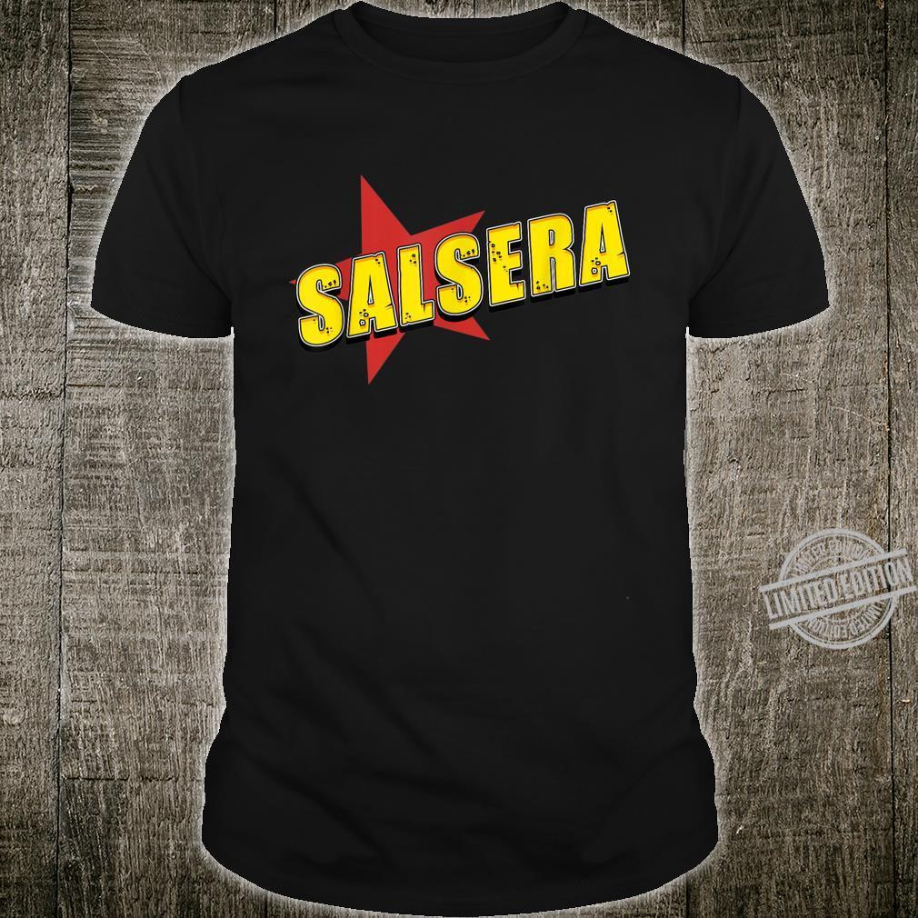 Salsa der Tanz mit Musik aus Kuba in der Karibik, Südamerika Shirt