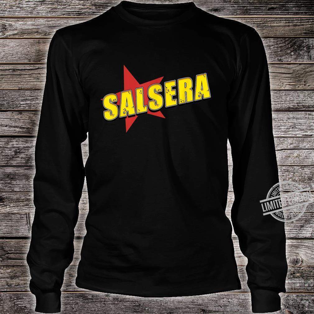 Salsa der Tanz mit Musik aus Kuba in der Karibik, Südamerika Shirt long sleeved