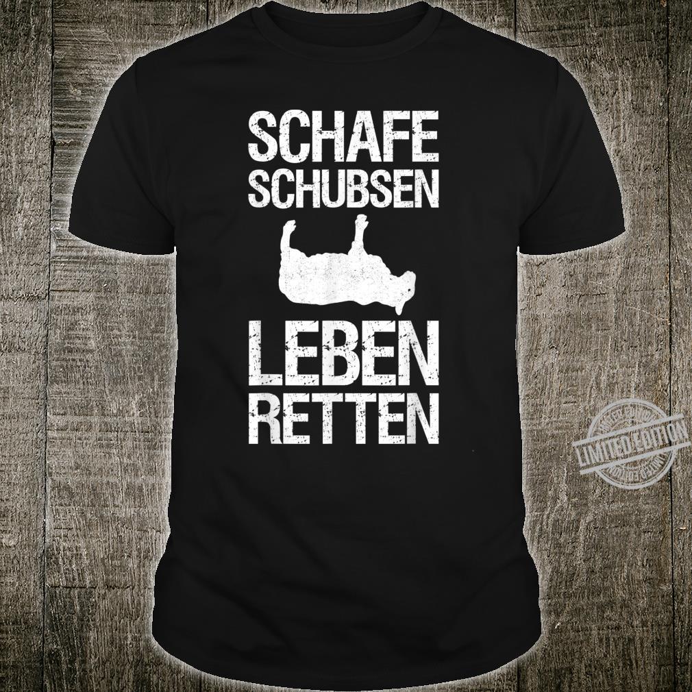 Schaf Schubser I Landwirt Schäfer Schafe Bauer Geschenk Shirt