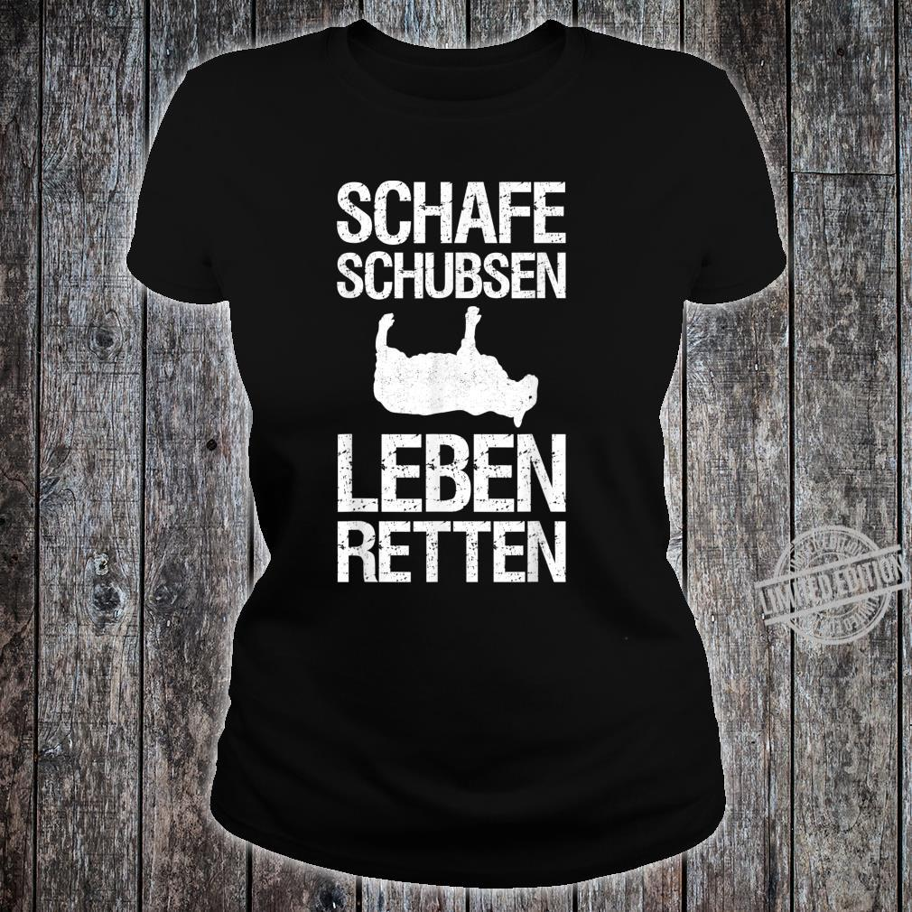 Schaf Schubser I Landwirt Schäfer Schafe Bauer Geschenk Shirt ladies tee
