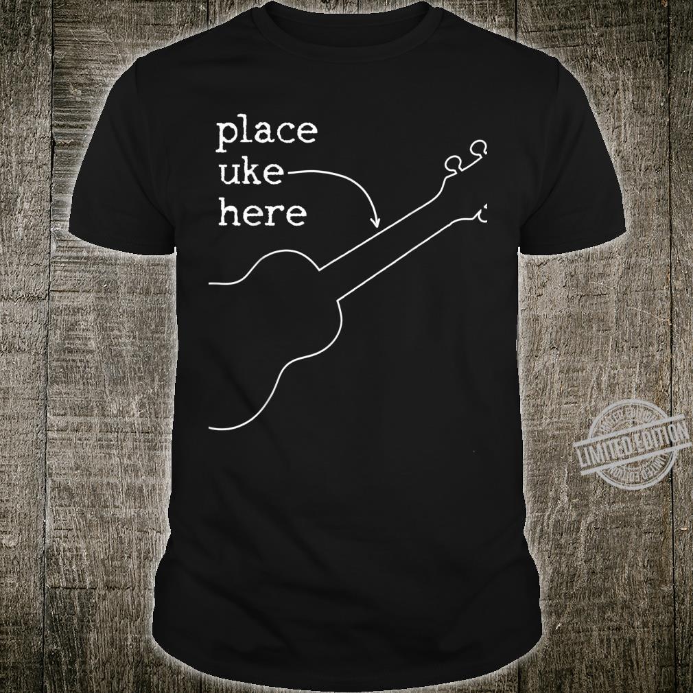 Ukulele Uke Spruch Lustig Musik Gitarre Geschenk Shirt