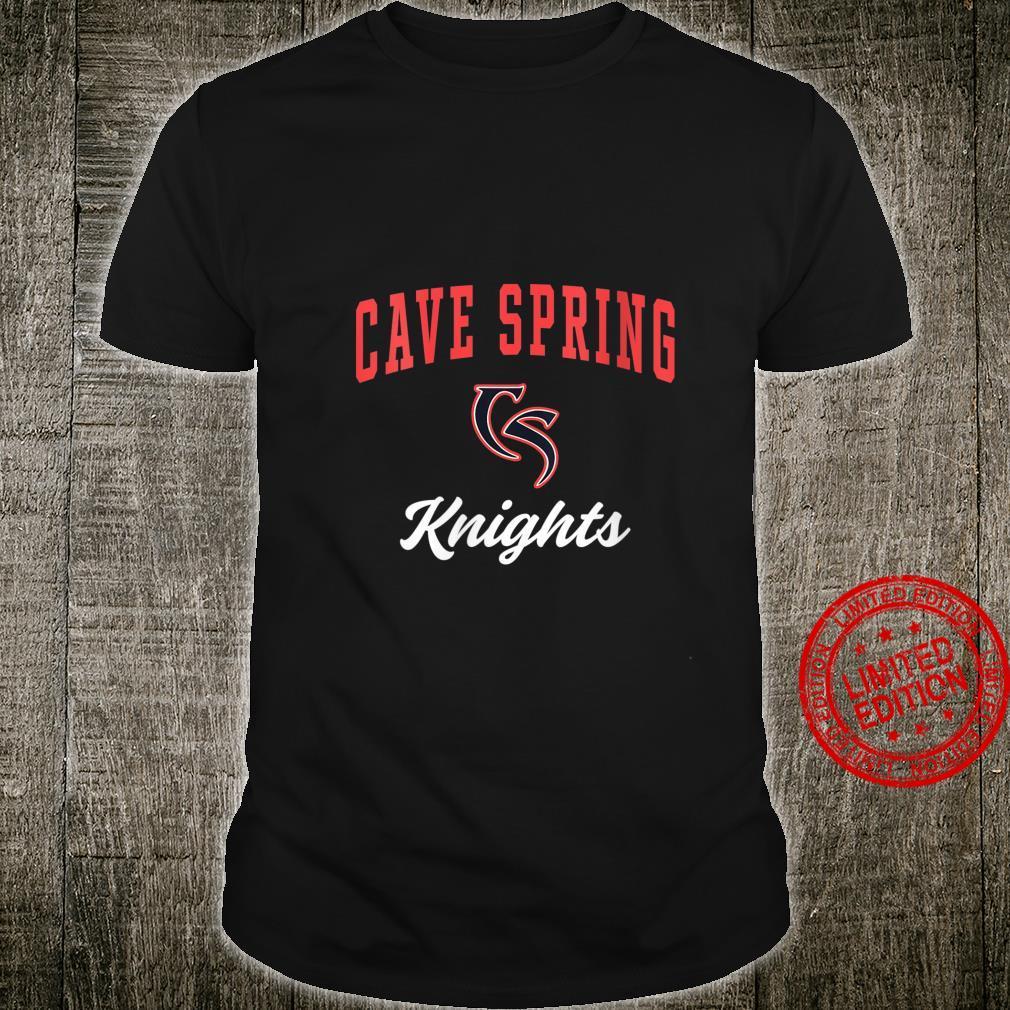 Womens Cave Spring High School Knights Shirt