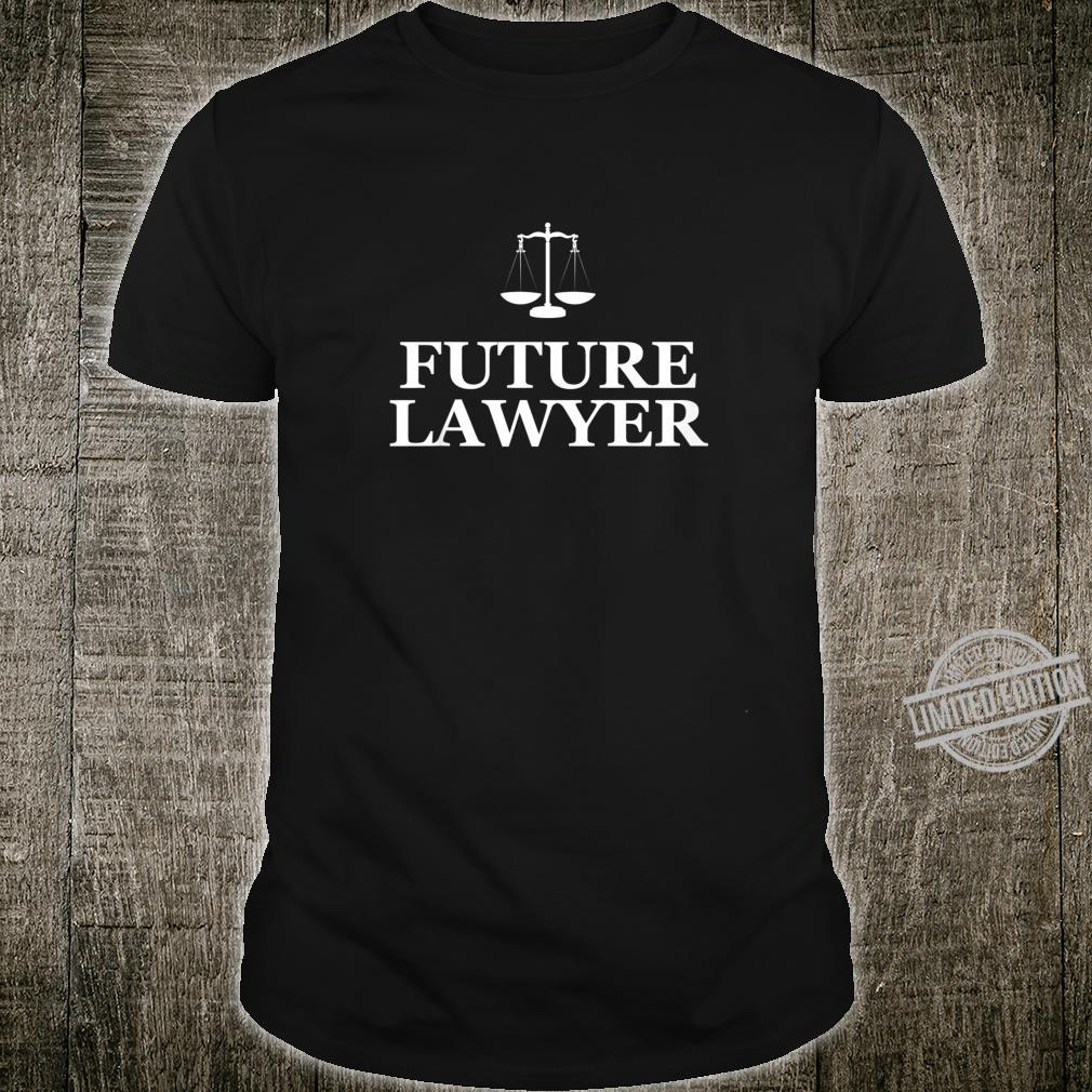 Youth Law School Future Lawyer Shirt